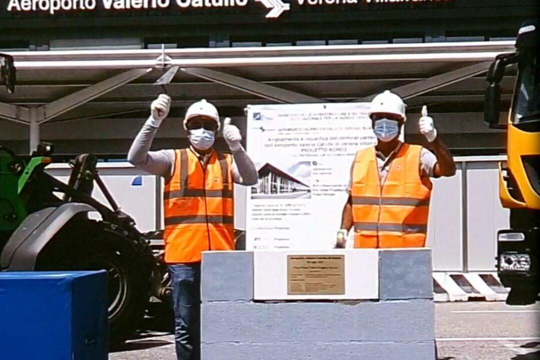 Aeroporto di Verona: parte il progetto di riqualifica e ampliamento del terminal.